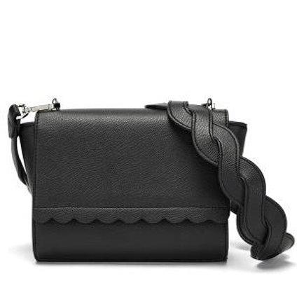 сумка женская чёрная 308