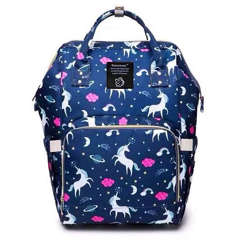 рюкзак-саквояж с принтом, единороги