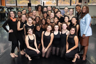 Women's History Month: Michelle Obama shares her experience on meeting dancers at her alma mater