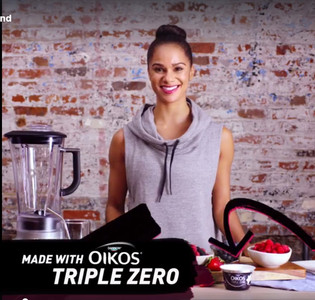Misty Copeland: Ballerina Smoothie Recipe with Oikos Triple Zero