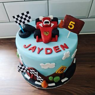 Ferrari Topper Cake