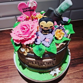 Spring Cake with Bees