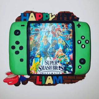 Switch Super Smash Bros Cake