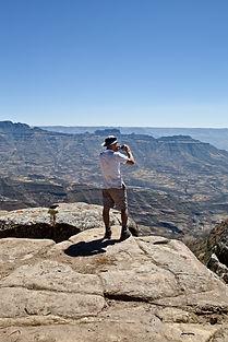 Valley view from Lalibela Hudad (Merebarbu)
