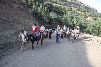 Horse riding tour in Lalibla