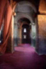Inside one of Lalibela Church