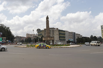 4 killo round-about, Addis Ababa