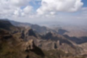 breathtaking taking mountain view of Abune Yosef