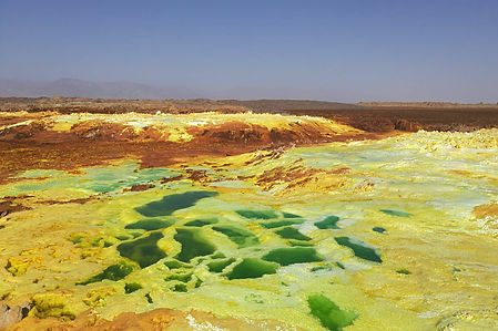 Dallol Sulfur Lake