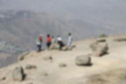 View above Lalibela
