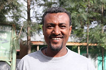 Abebe Baye, Bird watching expert at Highland Eco Trekking Tours Ethiopia
