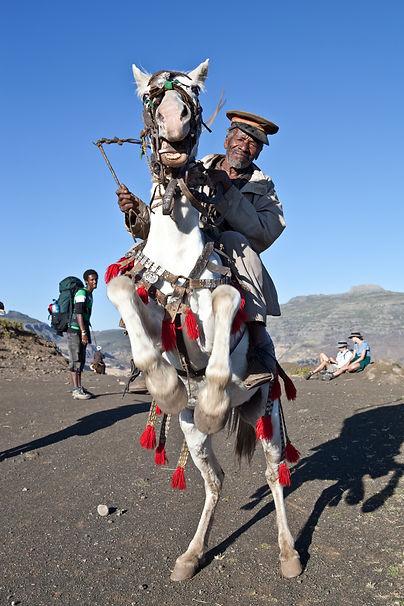 full day lalibela horse riding tour
