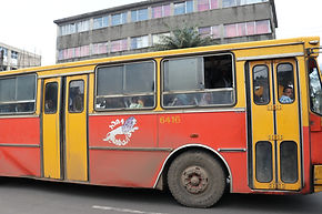 Addis Ababas, public bus, Ambesa