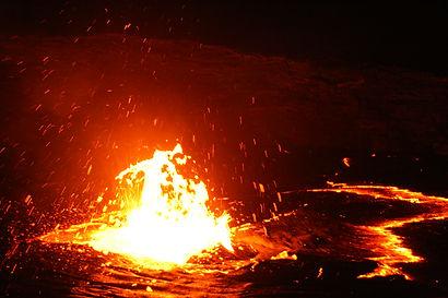 Danakil Depression, Ertale Volcano