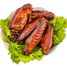 Barbeque Jerk Turkey Wings