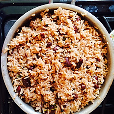 Rice and Peas (Red Kidney Beans)