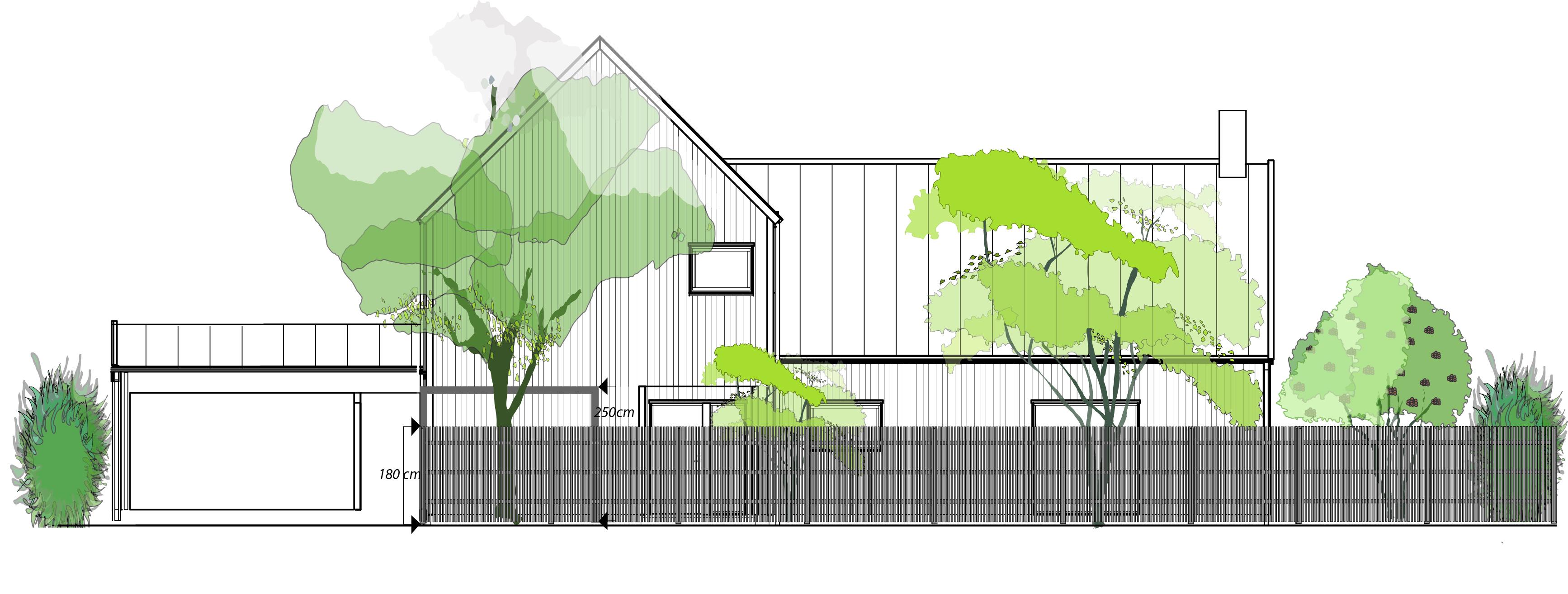 Illustration för bygglovsansökan