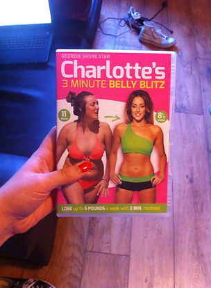 charlottes 3 minute belly blitz exercises
