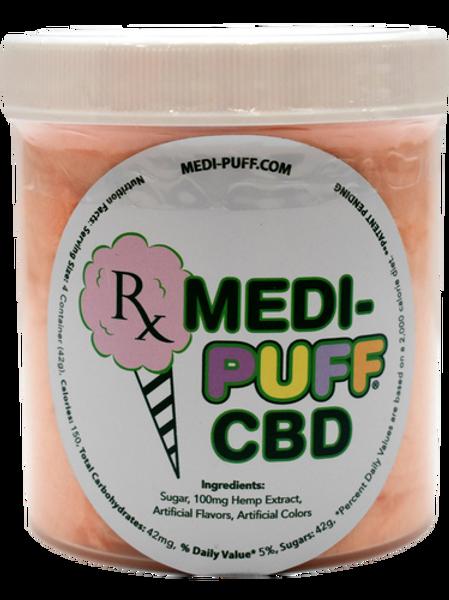 Medi-Puff: Orange Smoothie CBD Cotton Candy (100mg)