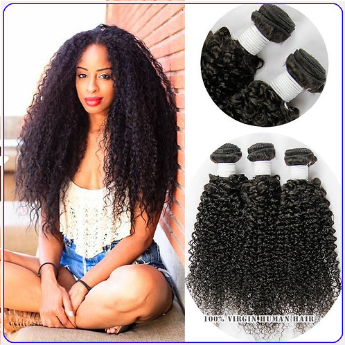 Peruvian Kinky Curly Hair Bundles