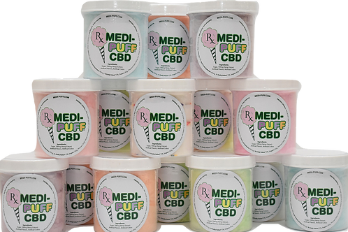 Medi-Puff: Mini Galaxy Grape CBD Cotton Candy (10mg)