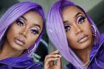 Platinum Purple Ombre