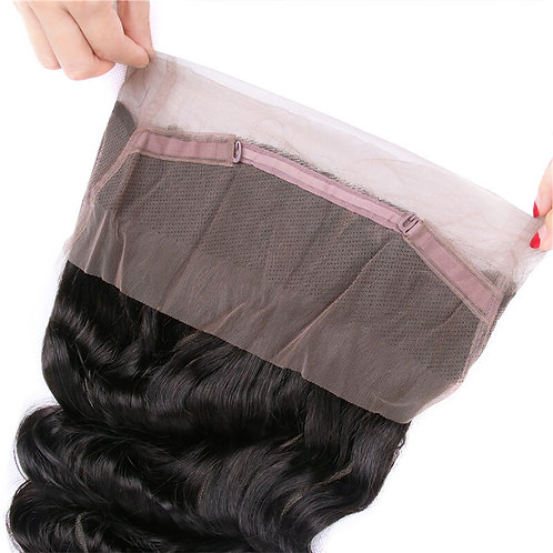 Brazilian Loose Wave 360 Lace Frontal