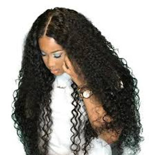 Natural Wave Virgin Malaysian Hair Lace Front Wigs