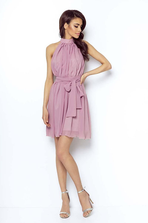 Pink Airy Cocktail Dress