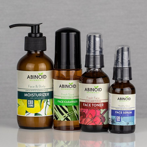 CBD Face/Skin Care Kit | Abinoid Botanicals
