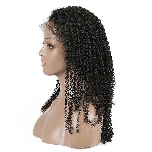 Virgin Hair Brazilian Kinky Curly Lace Front Wigs