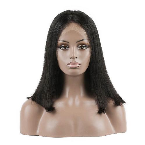 Virgin Brazilian Hair Straight Lace Front Bob Wigs