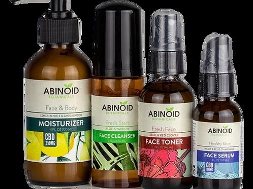Abinoid Botanicals: CBD Skin Care Kit