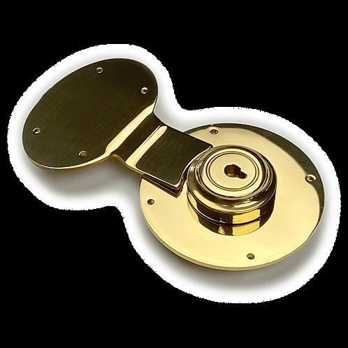 English Style Brass Key Lock
