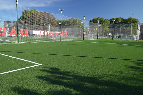Predio CEGA: Alquiler 1h Cancha Fútbol 5 (franja horaria 8hs a 16hs)