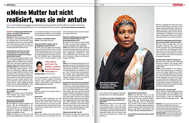 Nicole Krättli: FGM
