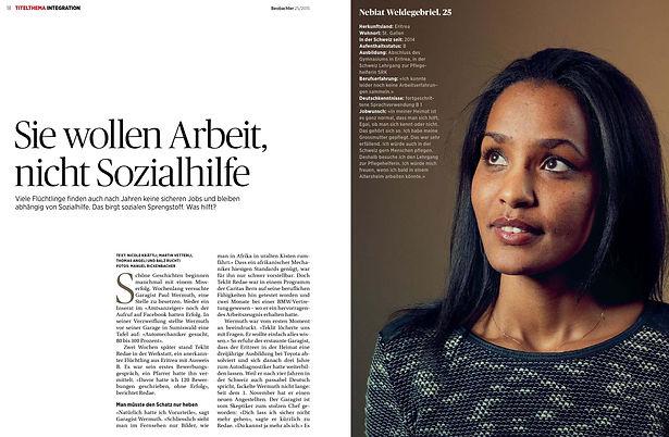 Nicole Krättli: Flüchtlinge
