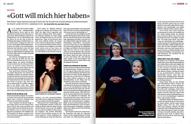 Nicole Krättli: Kloster