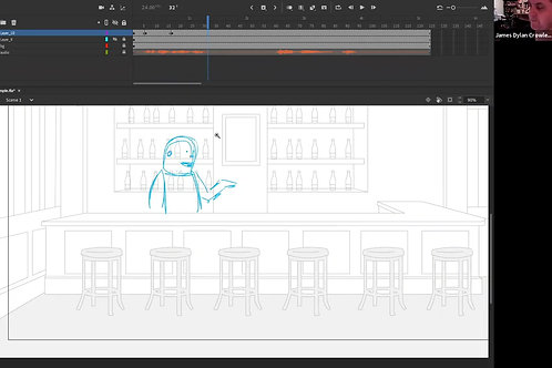 Adobe Animate Workshop with James Dylan Crowley