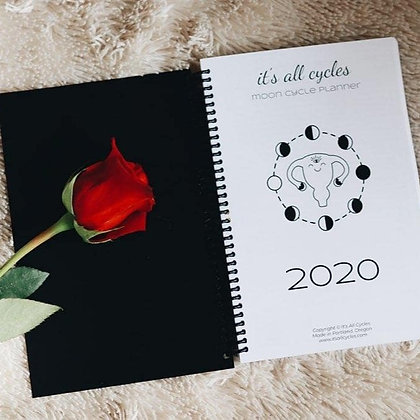 2020 Moon Cycle Planner