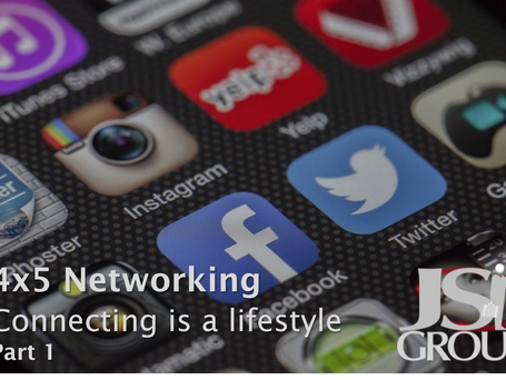 "The ""4 X 5"" Approach to Networking (Part 1)"