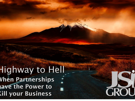 Highway to Hell – When Partnerships have the Power to Kill your Business