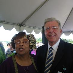 Flonize and Davis Richards (CEO, Madison General Hospital)