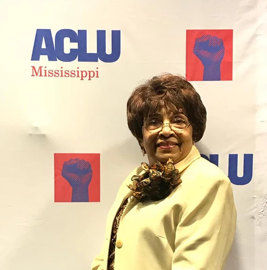 """Flonzie speaks at the ACLU """"Seat At the Table"""" Gathering."""