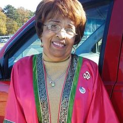 Flonzie after voting on November 5, 2018