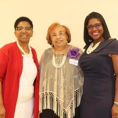 Willie Jones, Flonzie and Judge Adrienne Wooten