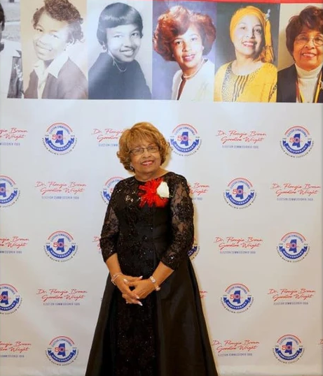 Flonzie celebrates the 50th anniversary of her historic election