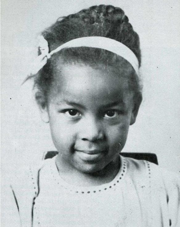 Flonzie as a little girl