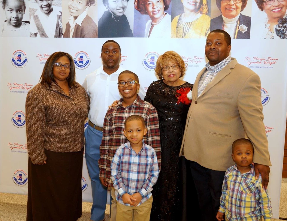 Japheth and Delbrico Johnson and Family (grand and great grandchildren)