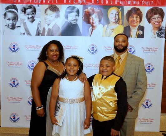 Rev. & Mrs. Calvert and Family